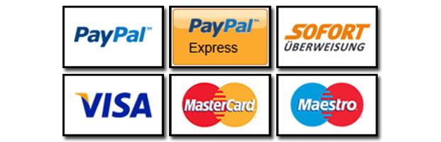 Kundenfreundliche und sichere Zahlungsmöglichkeiten
